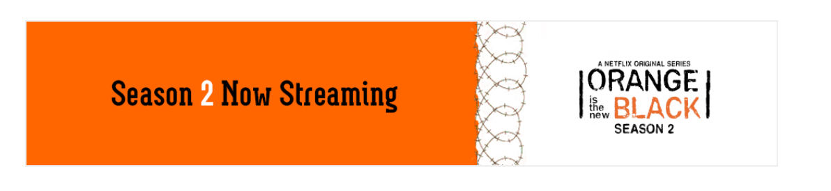 orange is the new black season 2 banner