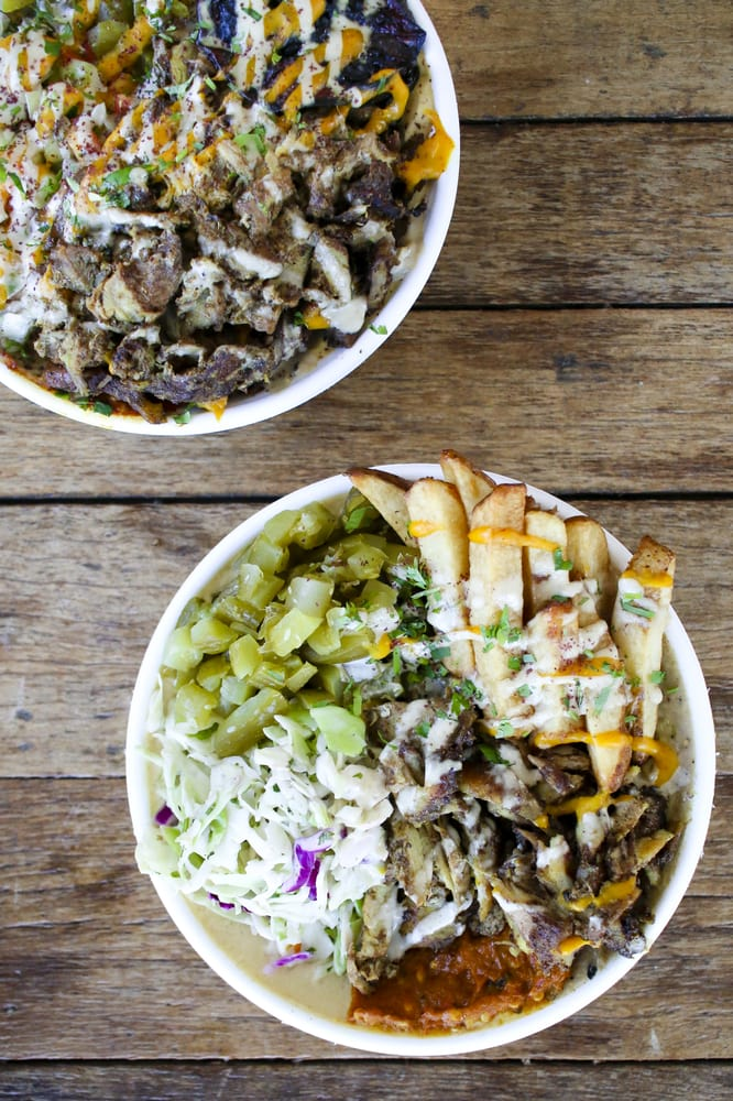 Photo of Yalla - Atlanta, GA, United States. Shawarma bowls.