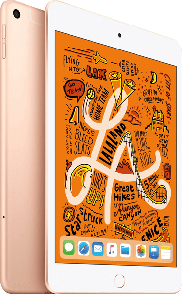 Дизайн планшета Apple iPad mini 5 Wi-Fi+4G 256GB Gold