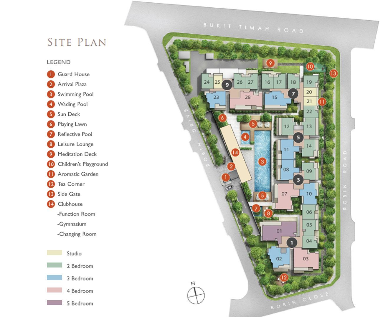 robin residences development site
