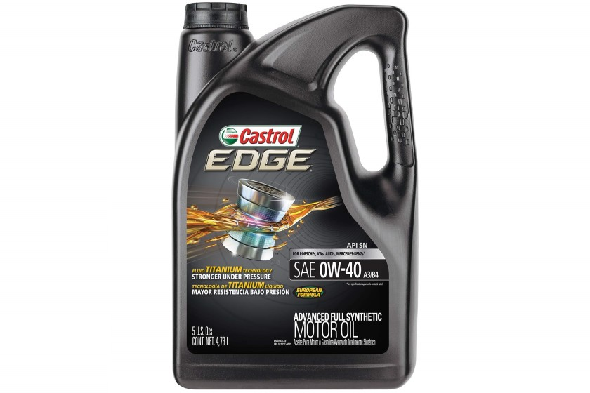 Castrol EDGE Advanced Full Synthetic Motor Oil