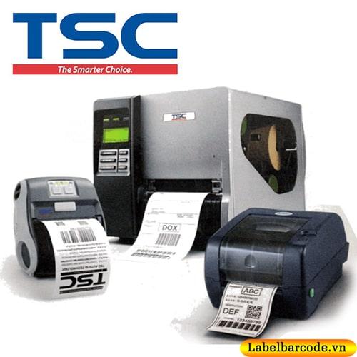 Dòng máy in mã vạch TSC với cách model thông dụng nhất