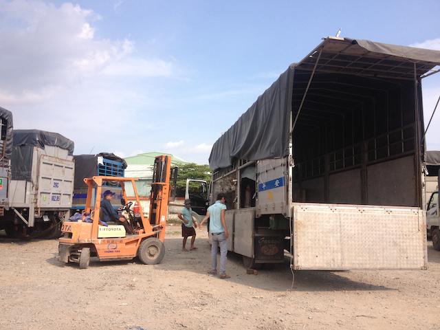 Chành xe Bình Định tại Vận Tải Miền Trung