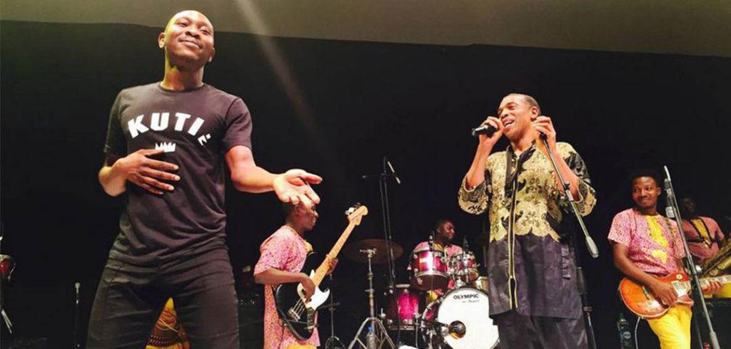seun and femi kuti,sons of afrobeat