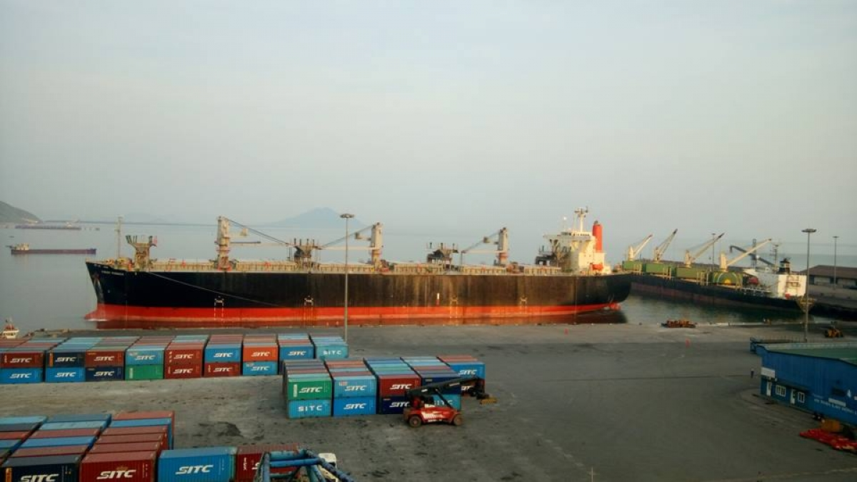 Cảng Vũng Áng - Công ty hợp tác kinh tế quân khu 4