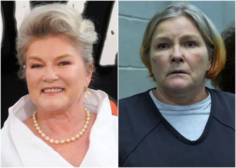 Kate Mulgrew - Galina Reznikov soprannominata ''Red'' Orange is the new Black protagoniste