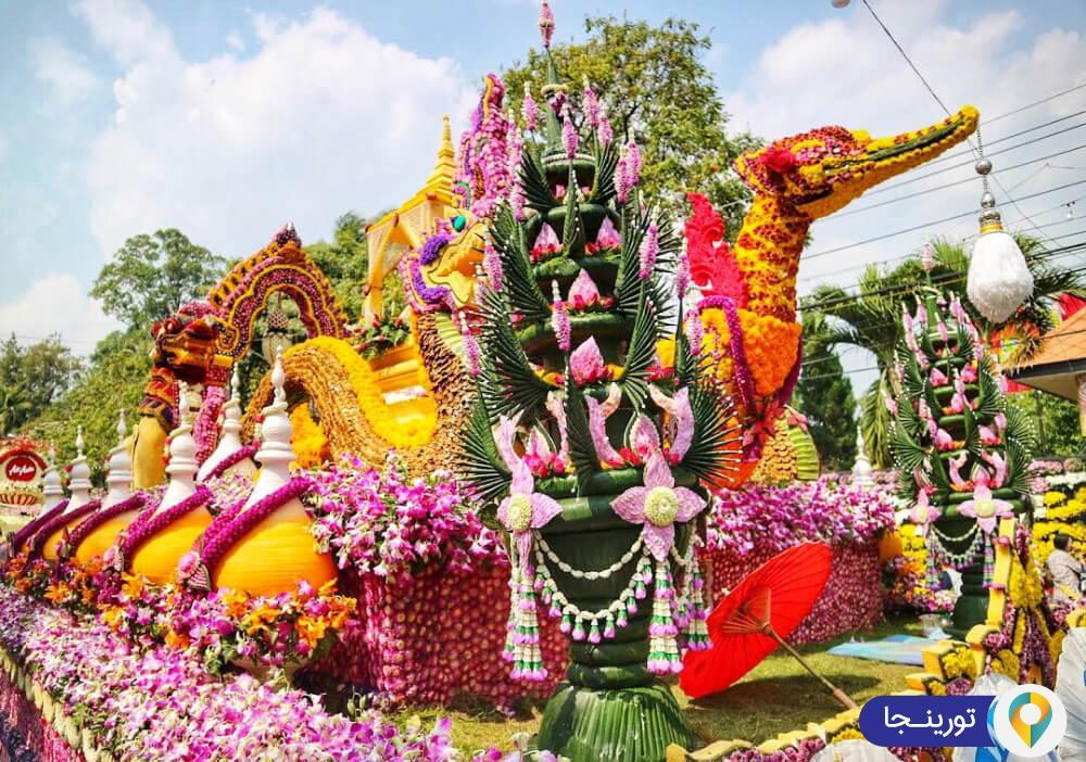 فستیوال گل چیانگ می در تایلند