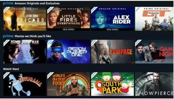 Amazon Prime Video Movies