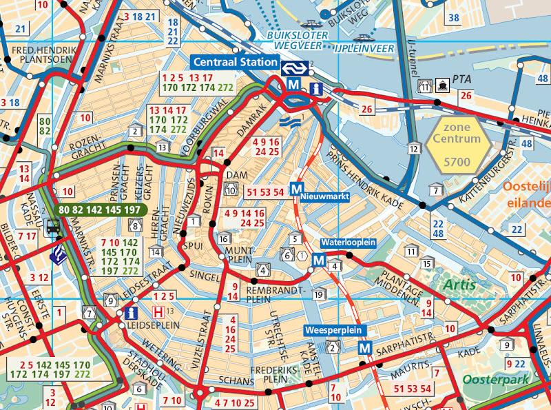 mapa de amesterdão Guia de Amsterdam (Amsterdã) | Viagem.decaonline.| Dicas de Viagem mapa de amesterdão