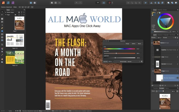 Affinity Publisher 1.8 for Mac Download