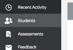 Students icon in Fluency Tutor Dashboard