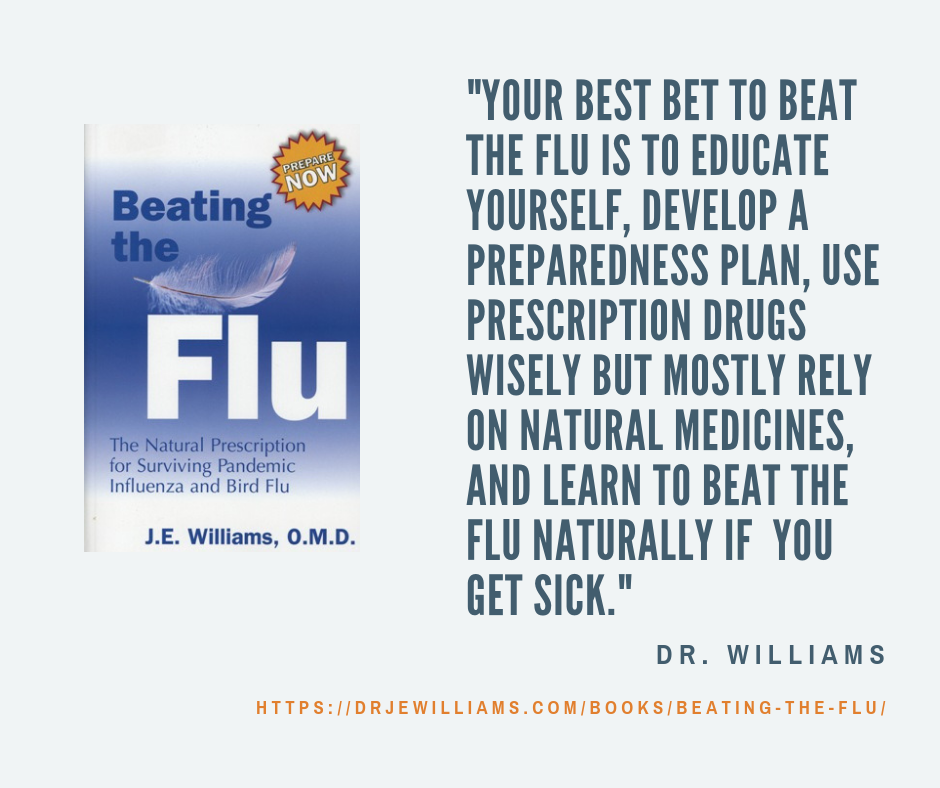 Beating the Flu, publication cover