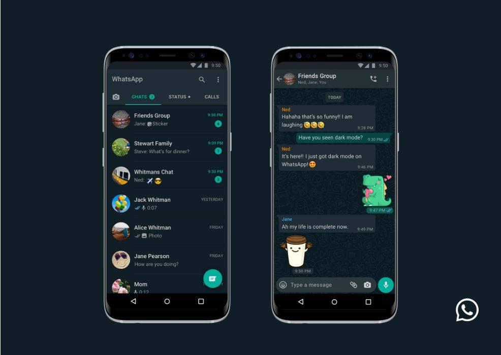 WhatsApp rolls out dark mode for iOS and Android | The Star