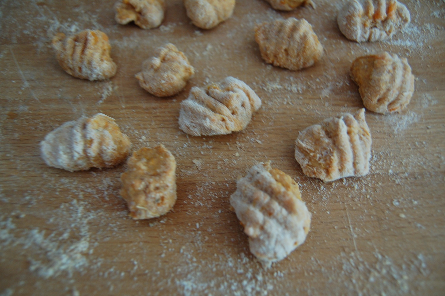 Whole Wheat Sweet Potato Gnocchi Print this Recipe!