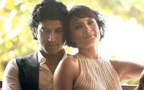 Farhaan Akhtar with his wife Adhuna Bhabani