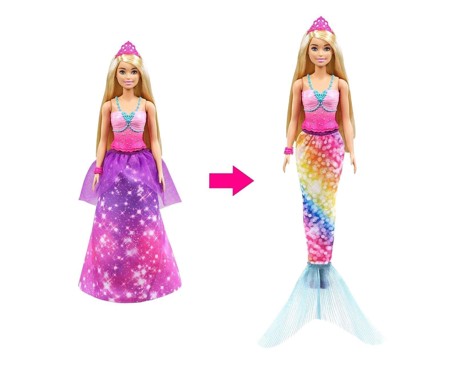 Muñeca barbie sirena para niñas