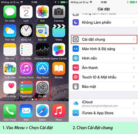 Cách nhận biết iPhone Lock đã dùng mã để trở thành iPhone Quốc Tế
