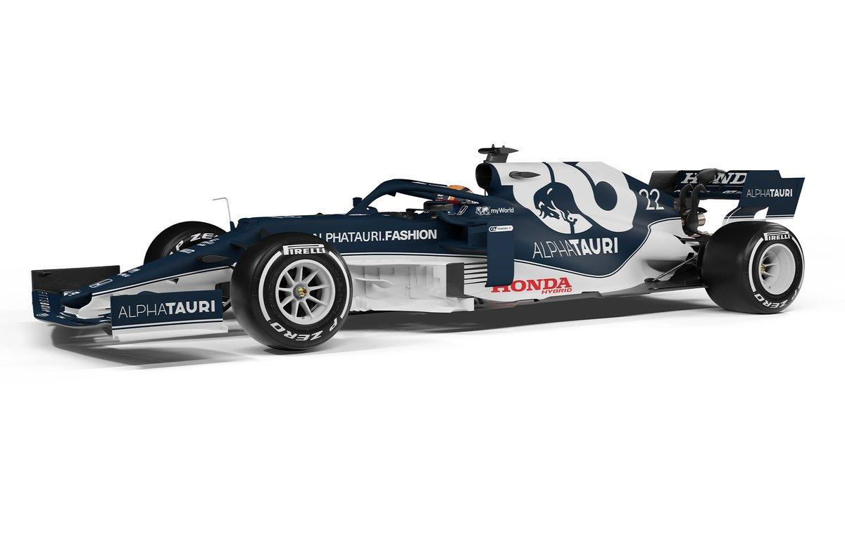 AlphaTauri launches 2021 Formula 1 car, the AT02
