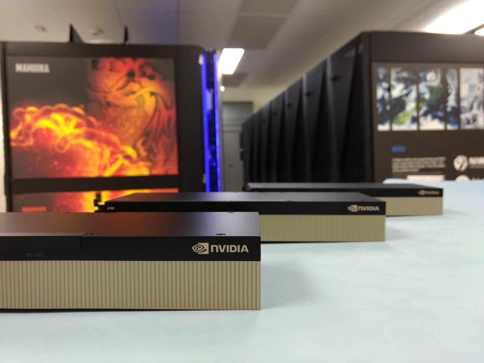 Picture of NVIDIA GPUs.