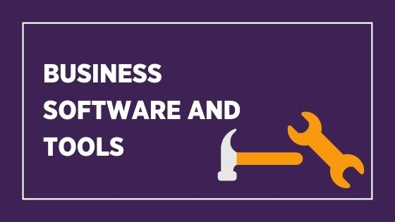 business software and tools