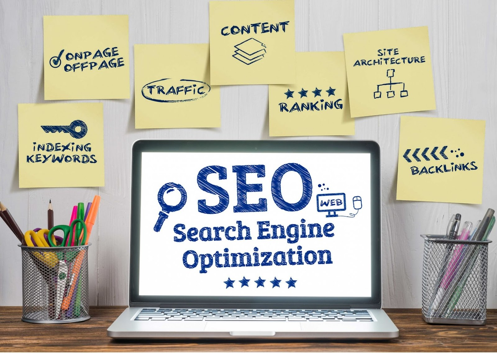 Search Engine Optimization On Page
