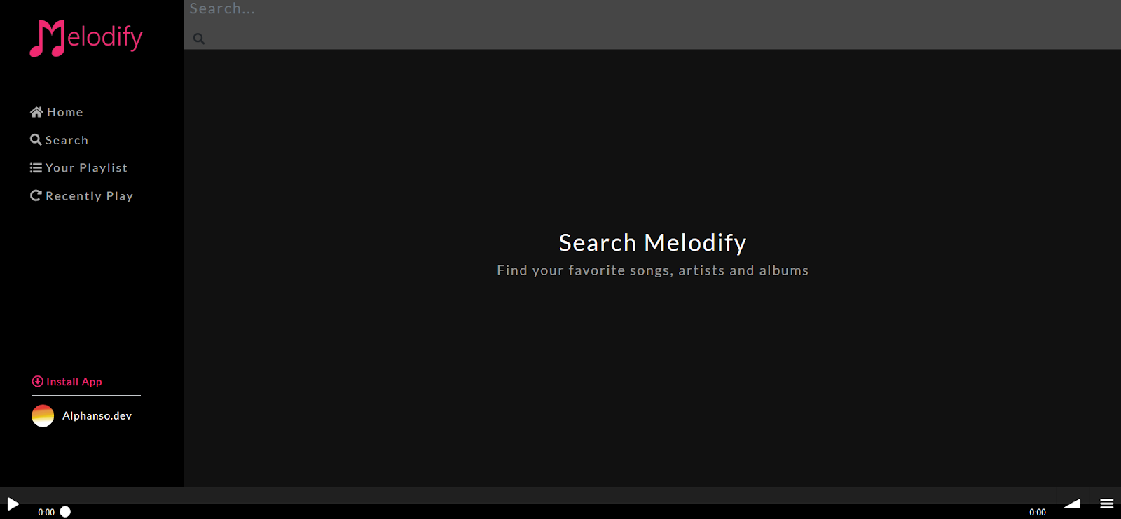 How to Stream Music with Melodify Mobile app
