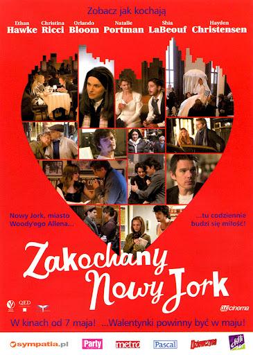 Przód ulotki filmu 'Zakochany Nowy Jork'