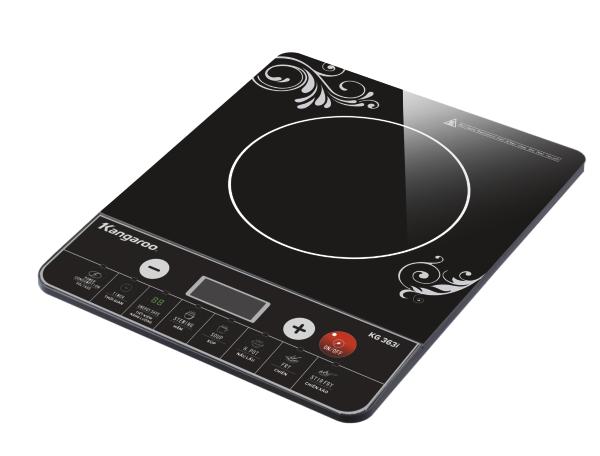 Bếp từ có giao diện người dùng hiện đại nhưng dễ sử dụng