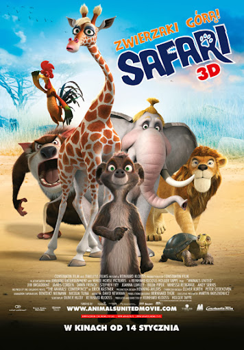 Polski plakat filmu 'Safari'