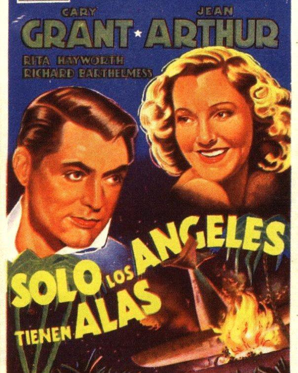 Sólo los ángeles tienen alas (1939, Howard Hawks)