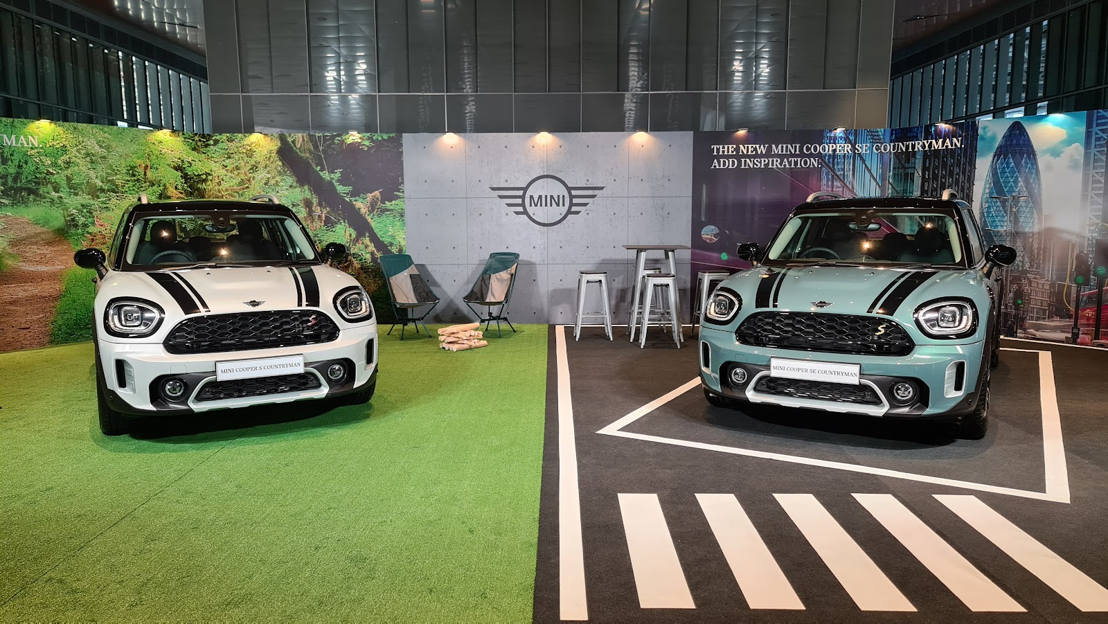 2021 MINI Cooper SE Countryman Launch