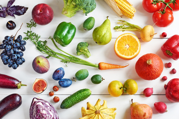Fruits and vegetables give can give your body all of the nutrients it needs to keep a healthy heart.