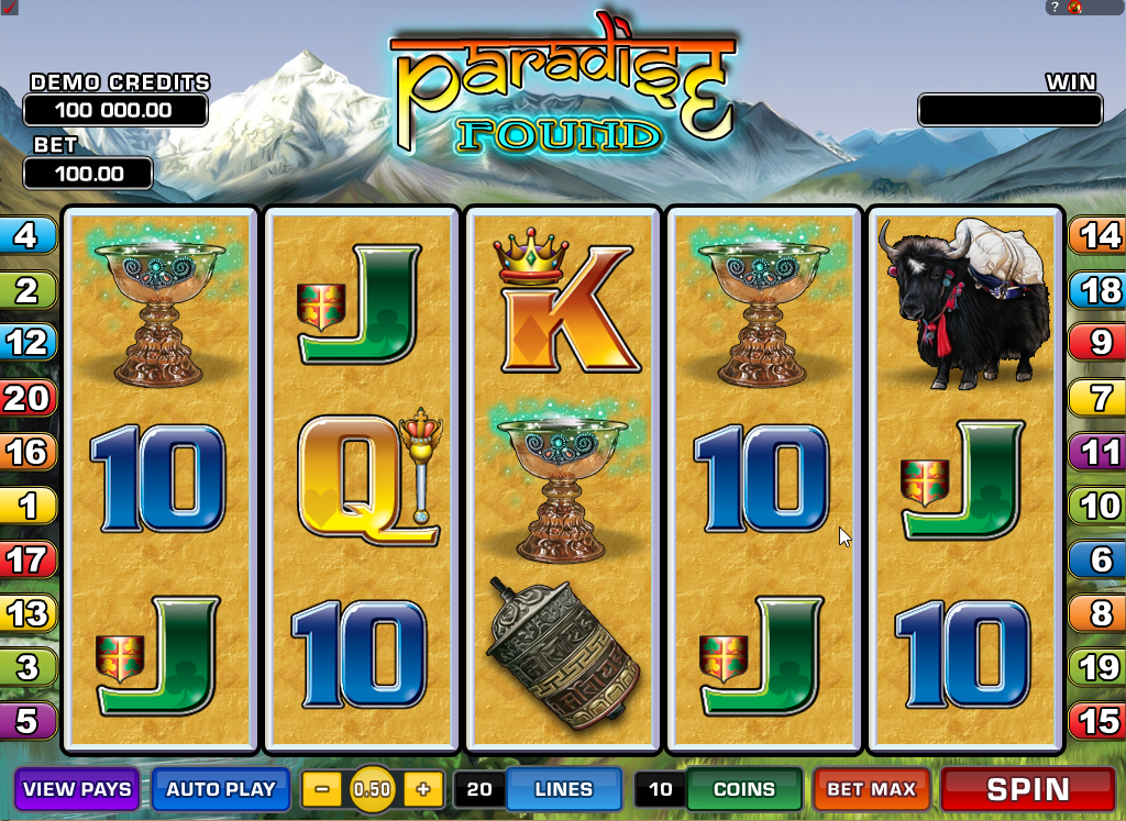 Paradise Found Slots Game Review