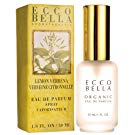 Ecco Bella Organic Eau de Parfum | Natural Lemon Verbena Perfume Spray with Essential Oils, 1 Fluid Ounce