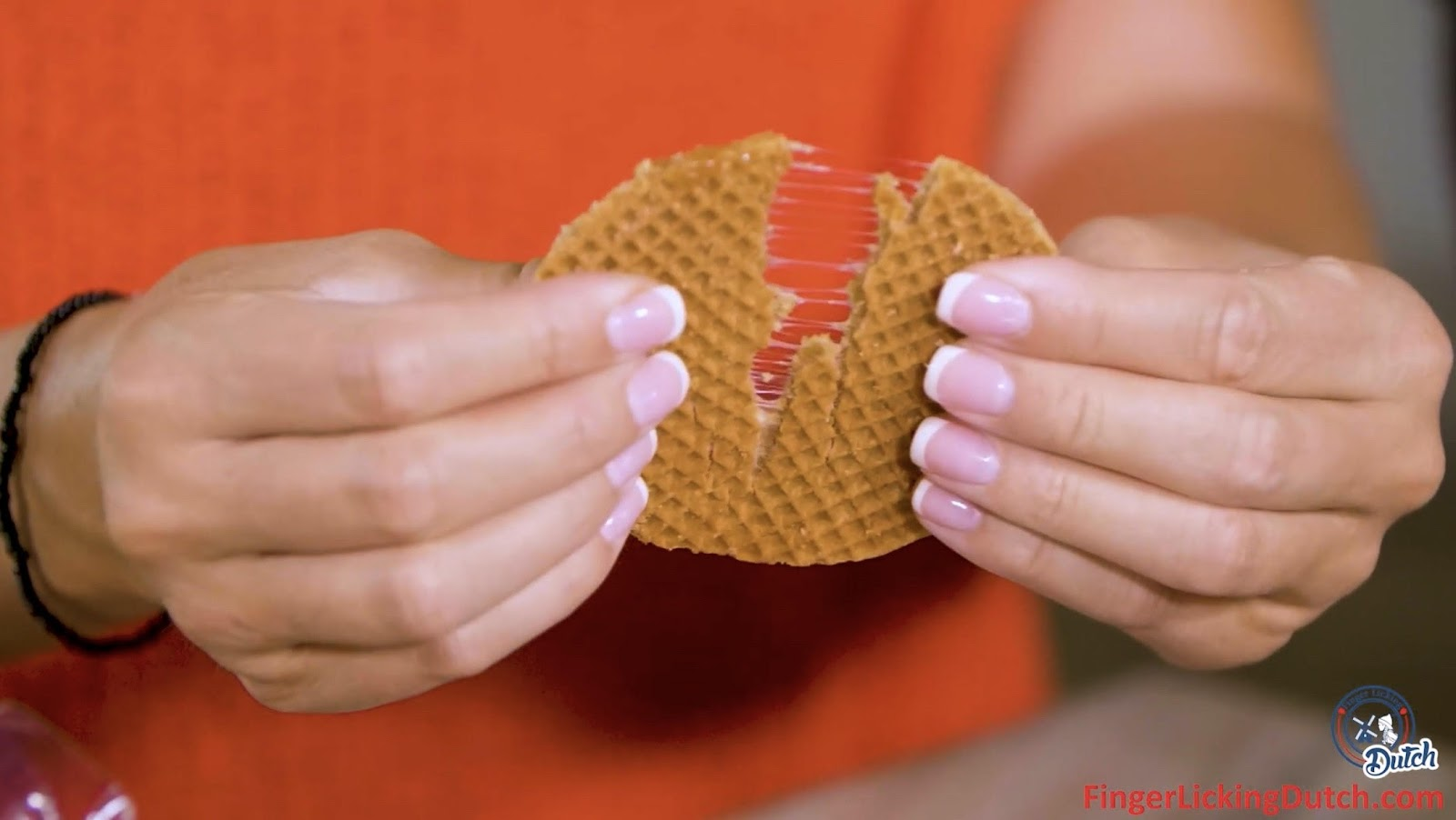 Finger Licking Dutch Stroopwafels