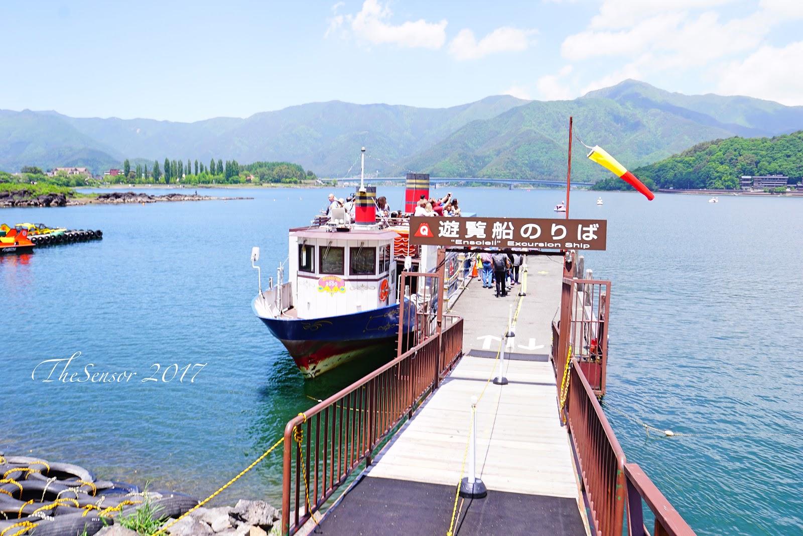 河口湖遊船