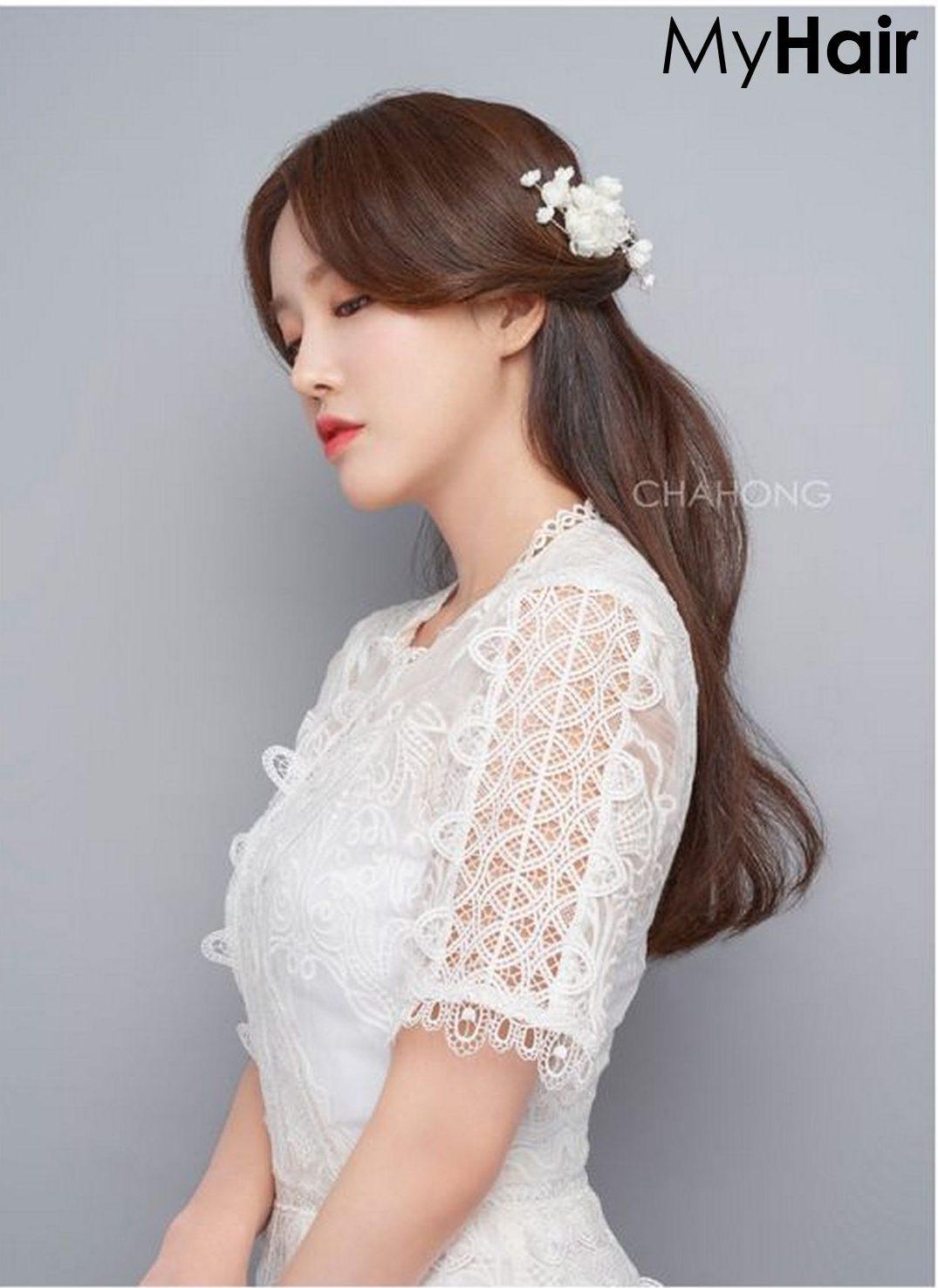 8 mẫu tóc cô dâu đẹp cho nàng xinh tuyệt trần