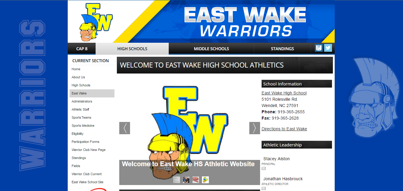 http://www.wakecountyathletics.com/eastwakehs