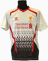 Liverool away kit 2013-2014