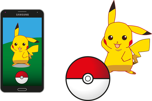 Pokemon, Pokemon Go, Pikachu, Pokeball
