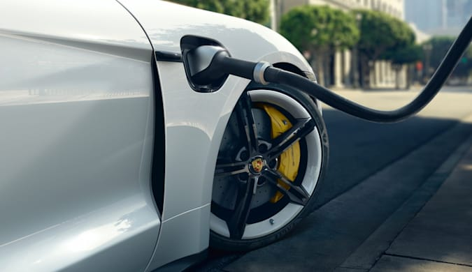Porsche's 2020 Taycan EV gets new features via a free software update