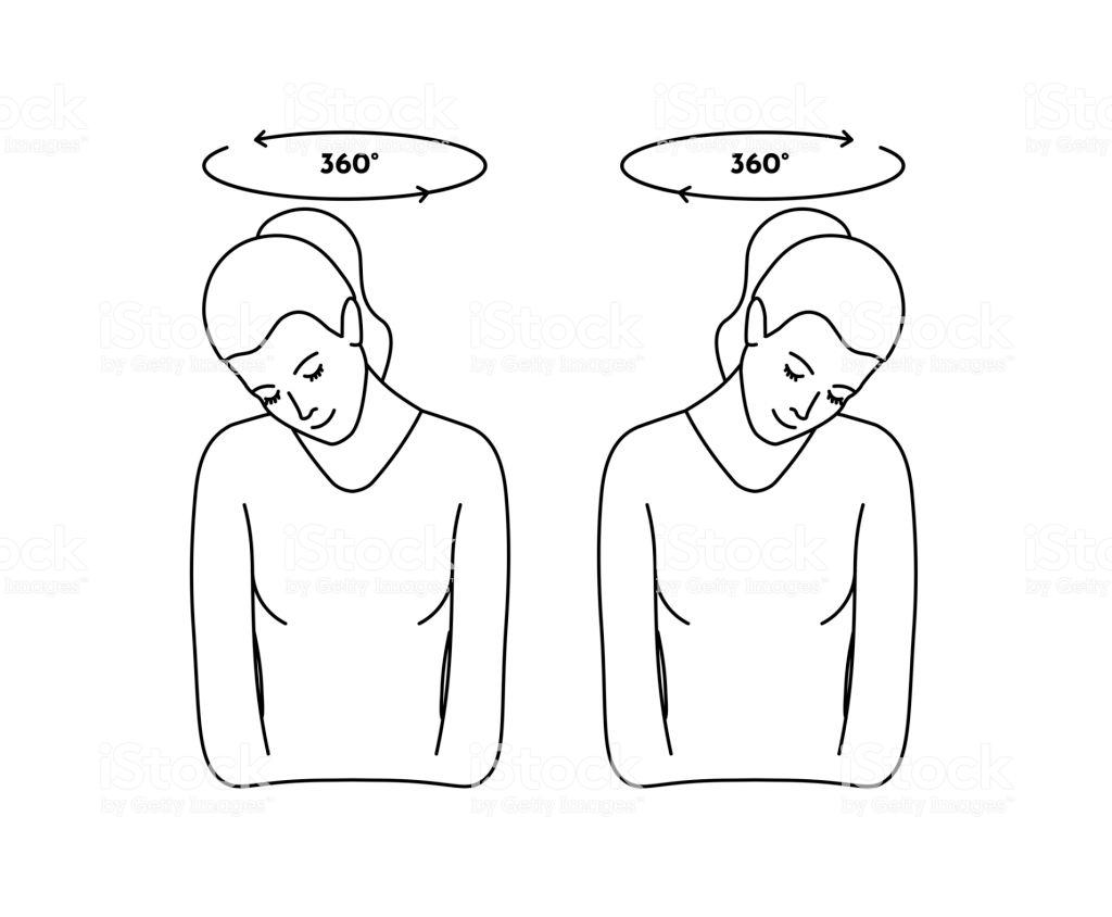Bài tập đầu - cổ chữa rối loạn tiền đình