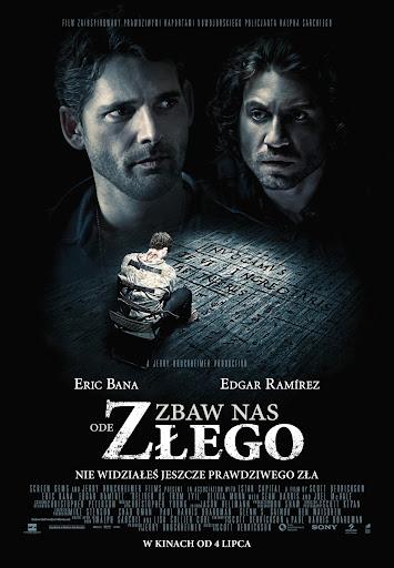 Polski plakat filmu 'Zbaw Nas Ode Złego'