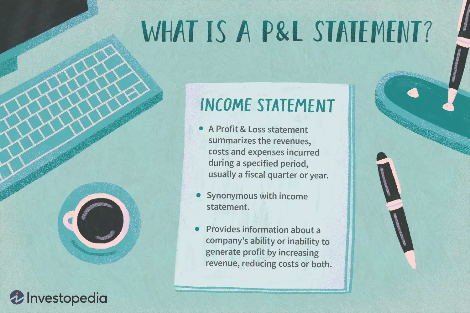 what is profit and loss statement