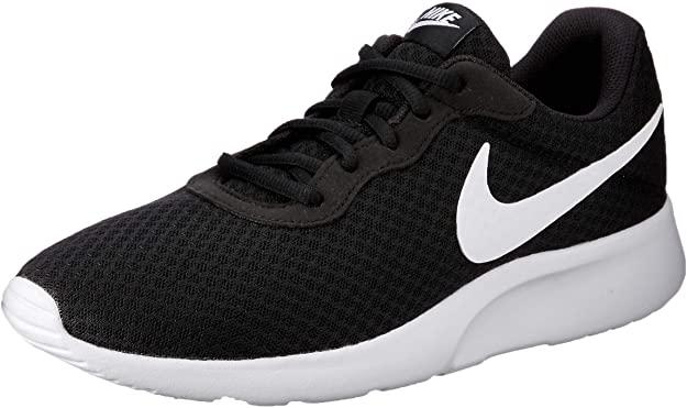 NIKE Men's Tanjun Sneakers, Breathable Textile Uppers and Comfortable Lightweight Cushioning