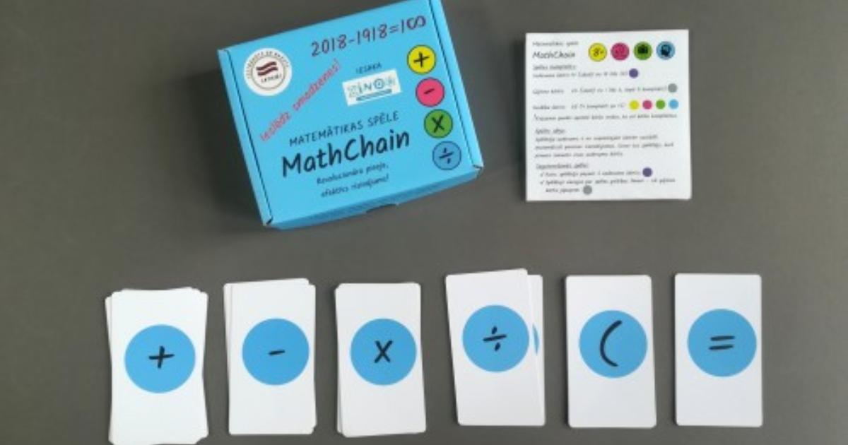 spēle math chains