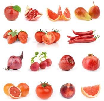 Rau củ màu đỏ có chứa hàm lượng Vitamin A rất cao