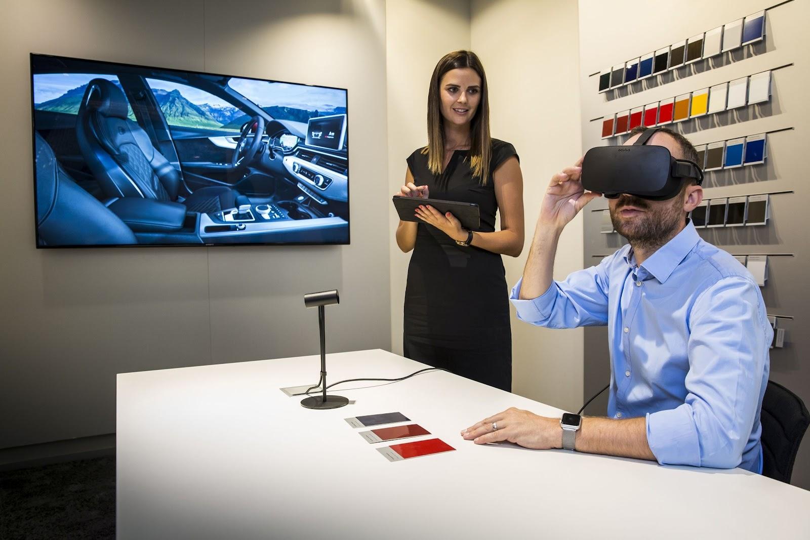 VR showrooming