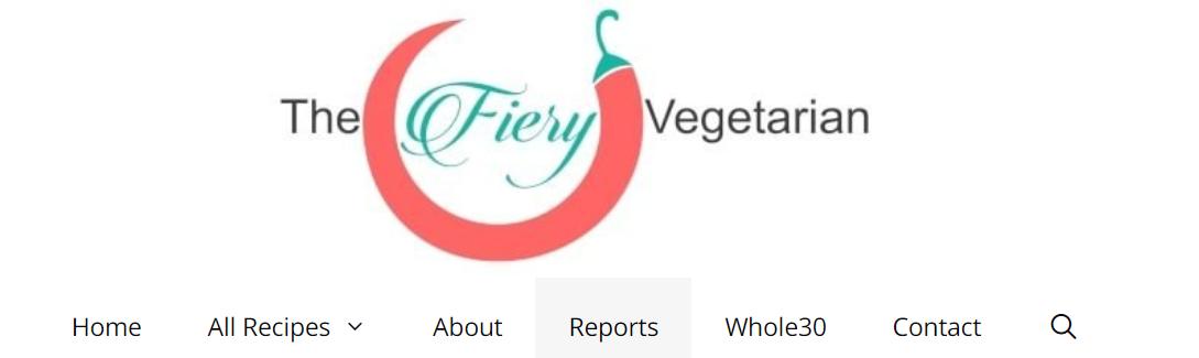 The Fiery Vegetarian Blog