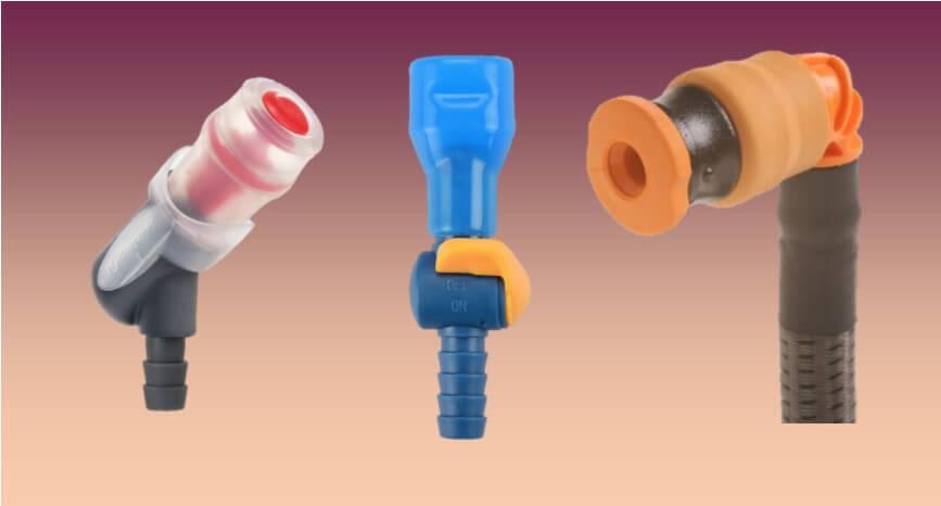 twist, switch and push-pull locking valves